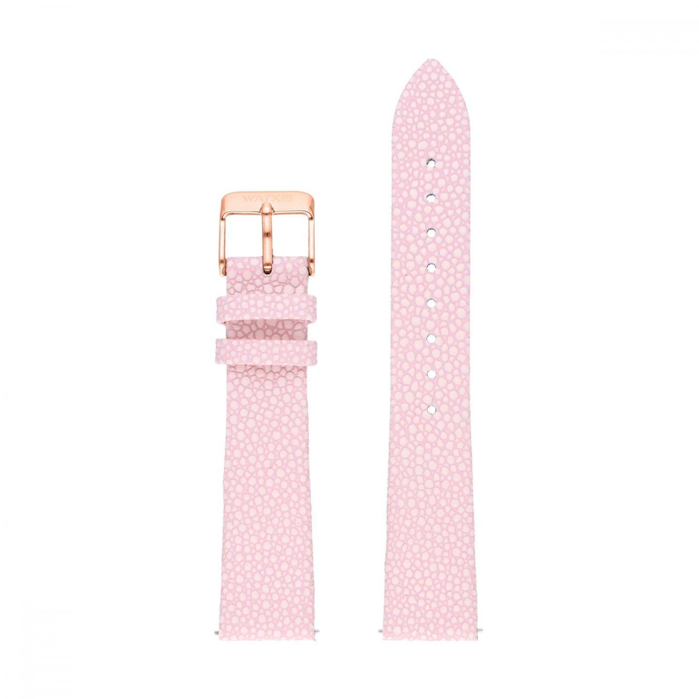 Bracelete WATX Leather Desire Rosa