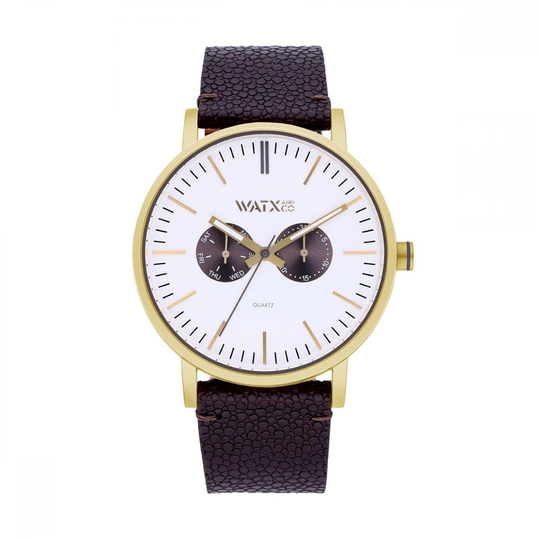 Bracelete WATX Leather Desire Castanho