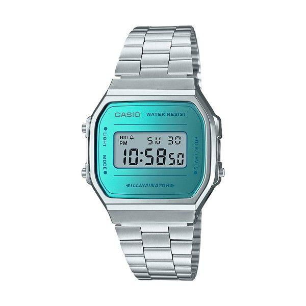 Relógio CASIO Vintage Iconic Prateado A168WEM-2EF