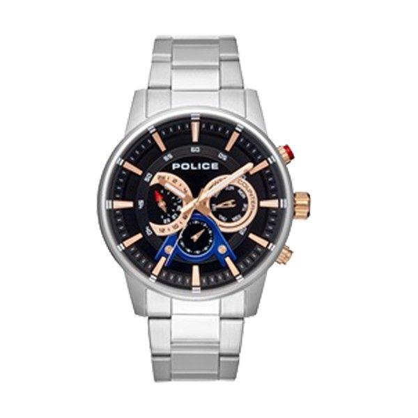 Relógio POLICE Avondale Prateado P15523JS02M