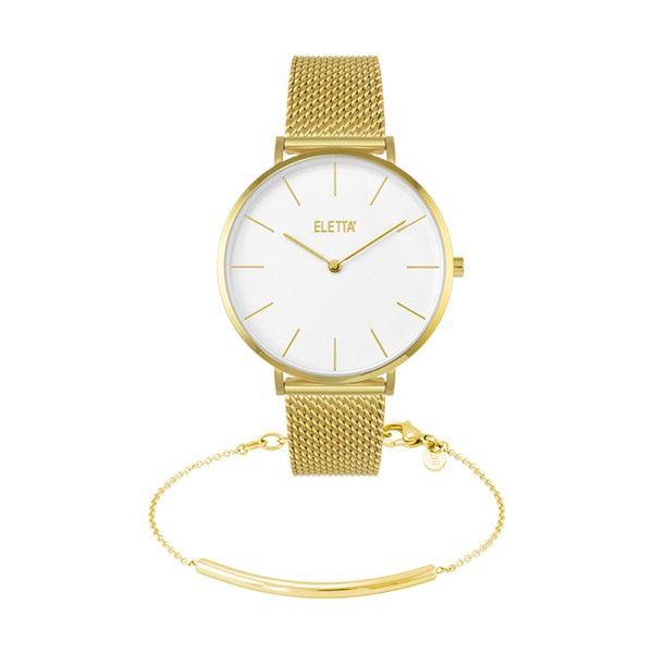 Relógio ELETTA Mood Dourado ELA800LBMGX