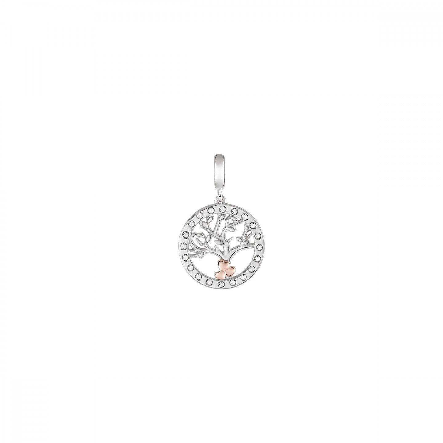 Charm BOW HAPPY Love Stories Tree of Life