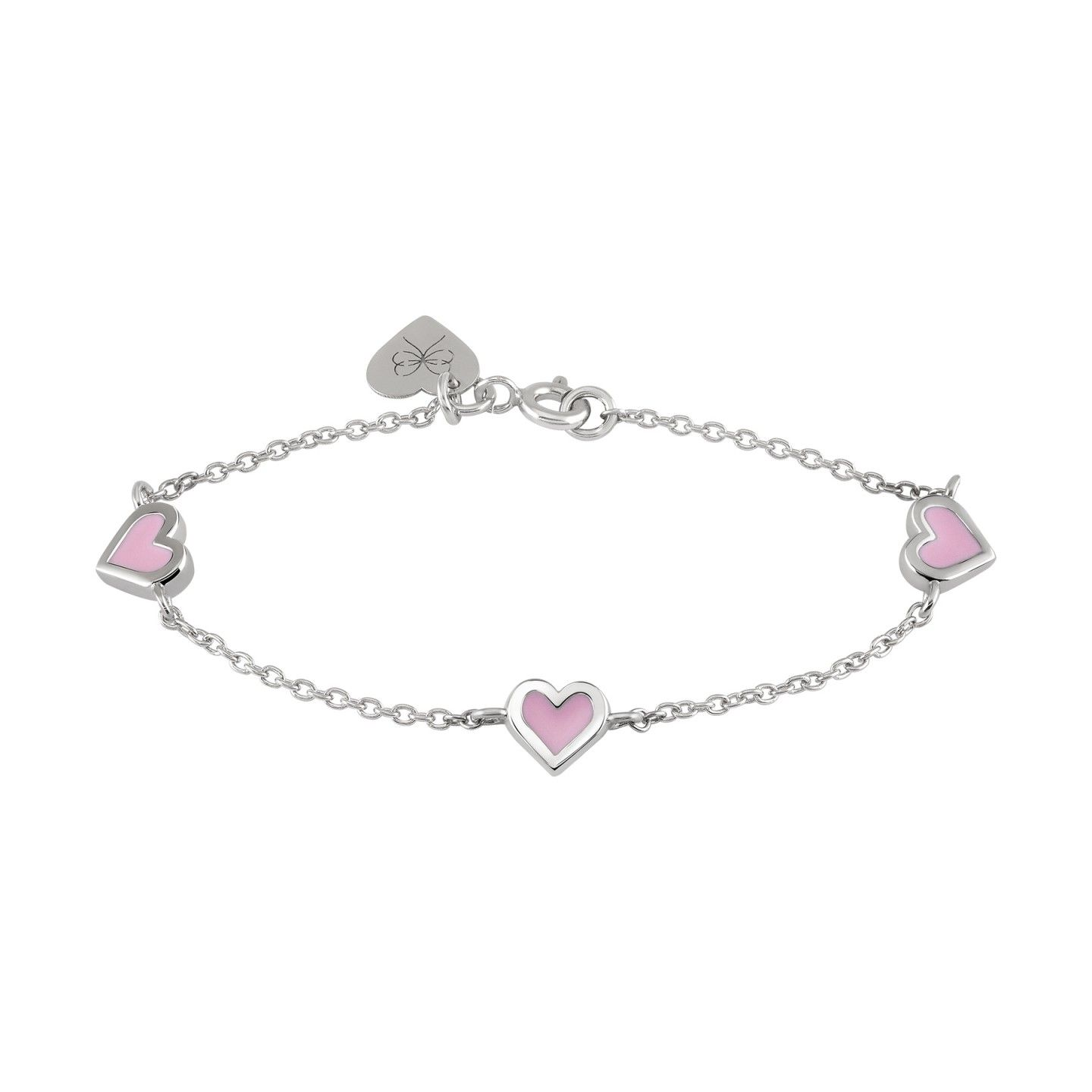 Pulseira BOW HAPPY Mini Me Daughter Heart