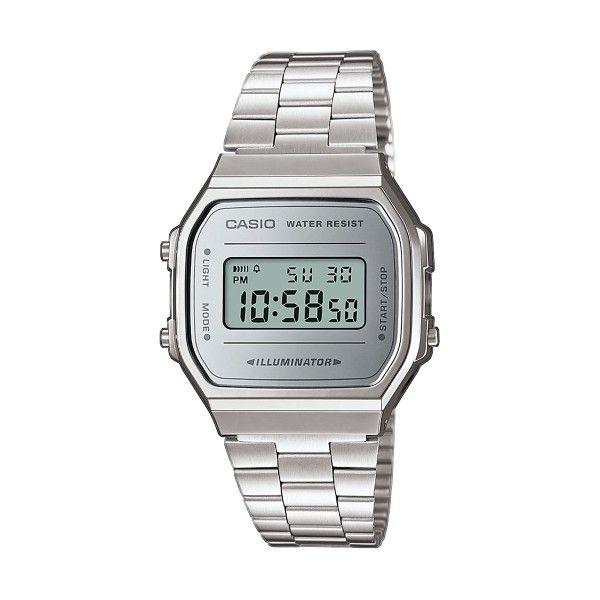 Relógio CASIO Vintage Iconic Prateado A168WEM-7EF