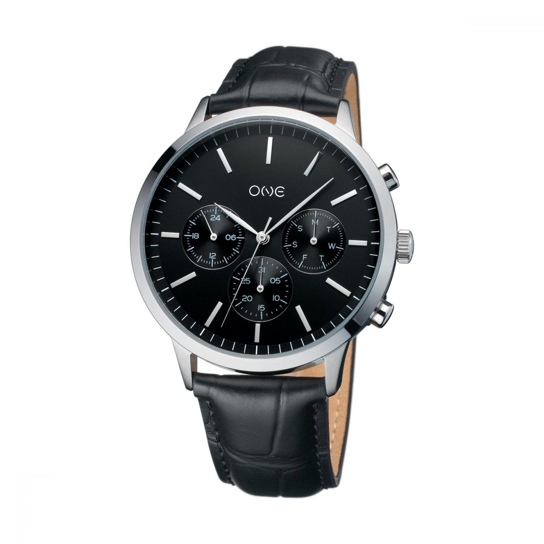 Relógio ONE Solidity Preto