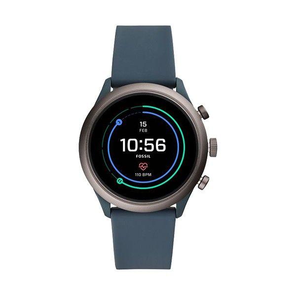 Relógio Inteligente FOSSIL Q Sport Azul (Smartwatch) FTW4021