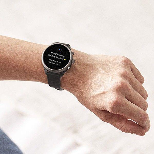 Relógio Inteligente FOSSIL Q Sport Preto (Smartwatch) FTW4019