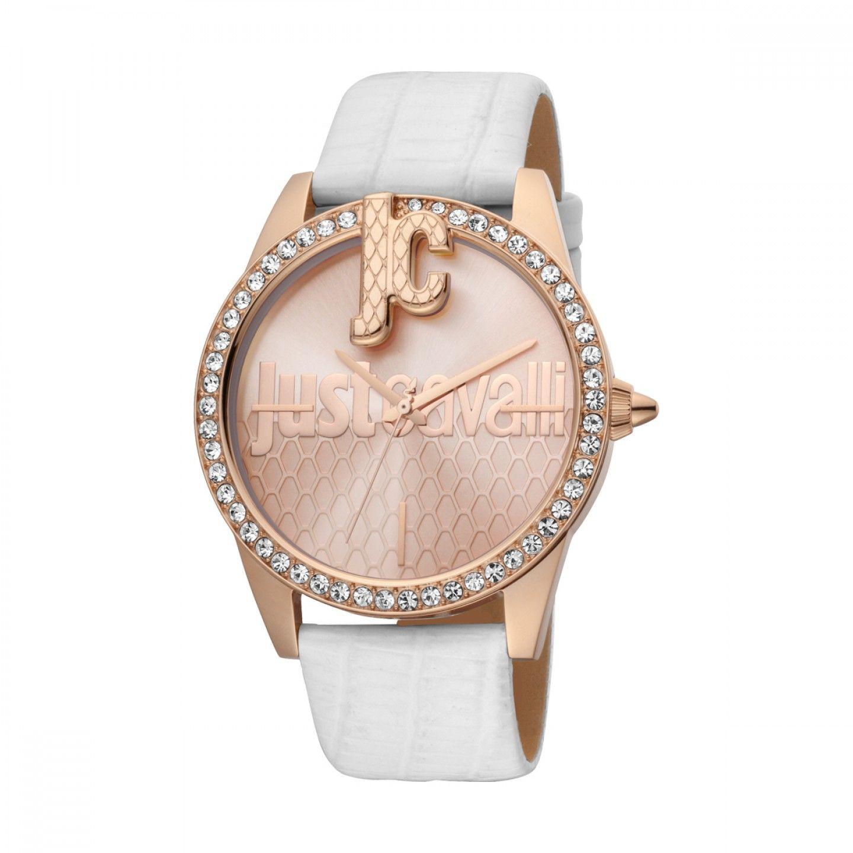 Relógio JUST CAVALLI TIME Logo XL Branca