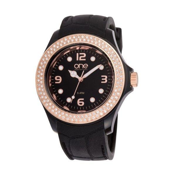 Relógio ONE COLORS Eclat Preto OA2076PR72T