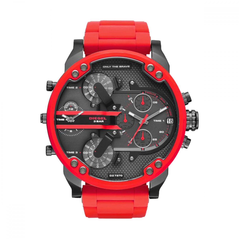 Relógio DIESEL The Daddies Series Vermelho
