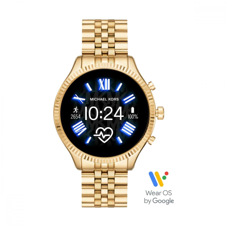 Relógio Smartwatch MICHAEL KORS ACCESS Lexington Dourado