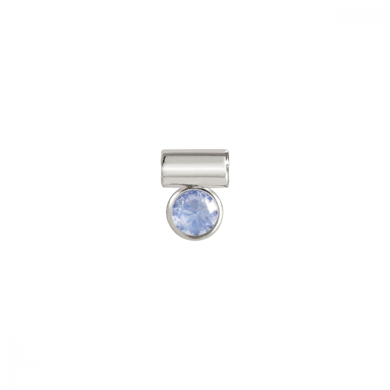 Pendente NOMINATION Seimia, Prata 925, Pedra azul clara