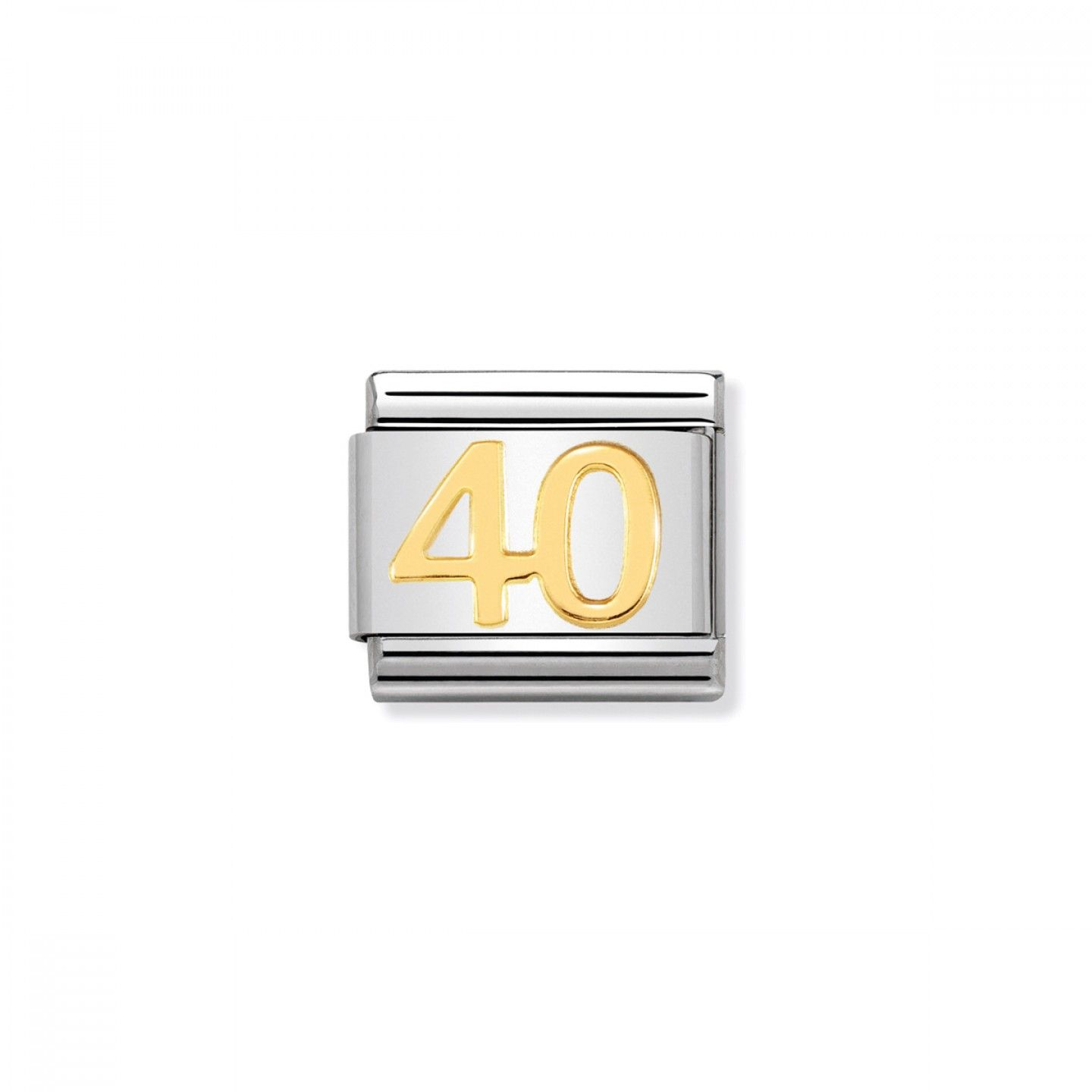 Charm Link NOMINATION, Ouro 18K, Nº40