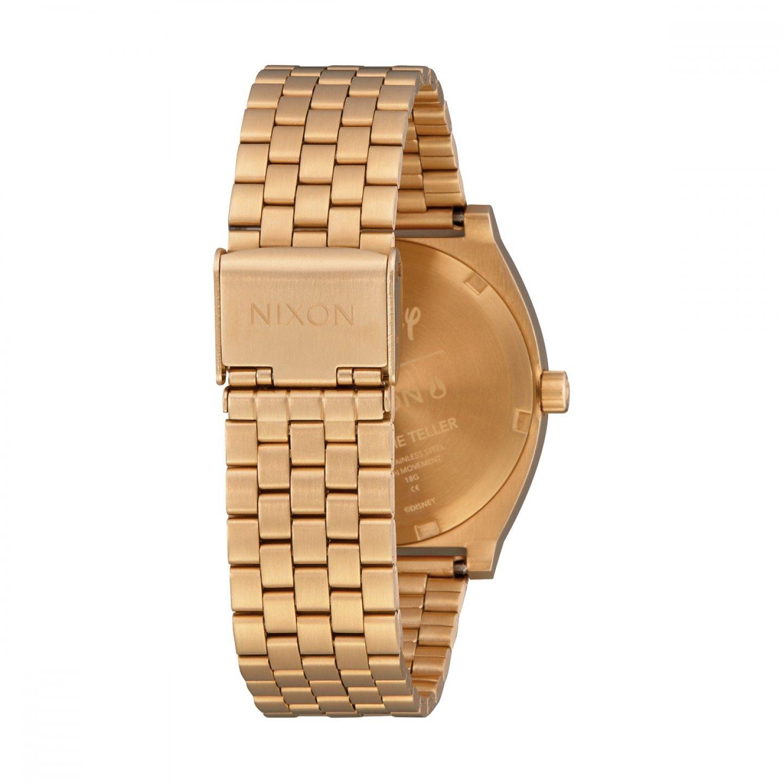 Relógio NIXON Time Teller Dourado (Mickey)