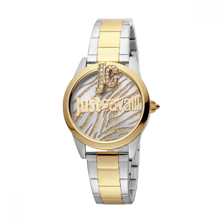 Relógio JUST CAVALLI TIME Just Trama Bicolor Dourado