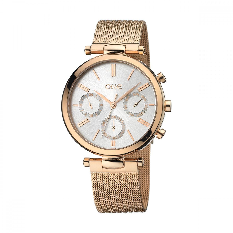 Relógio ONE Impressive Ouro Rosa