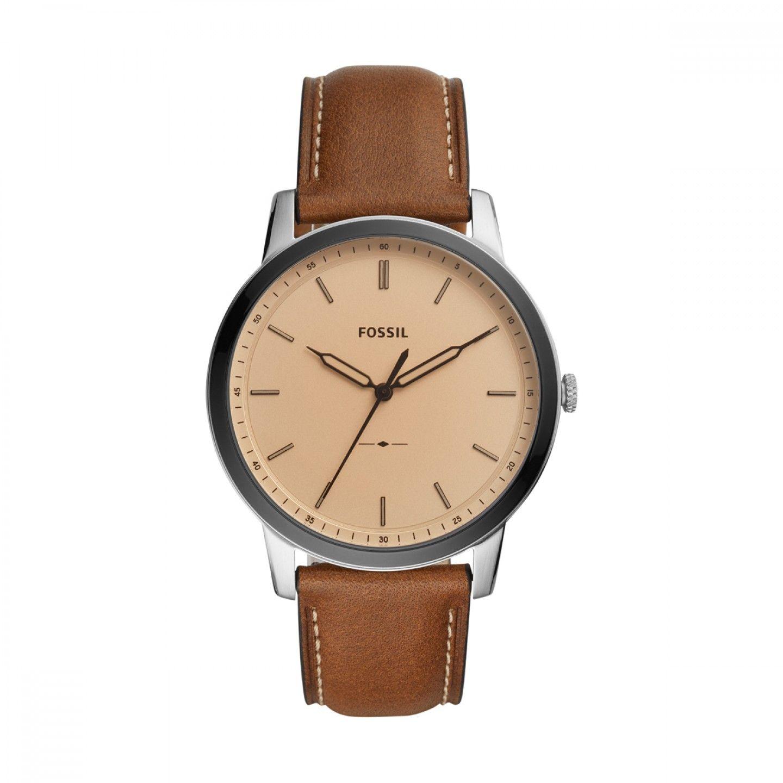 Relógio FOSSIL The Minimalist 3H Castanho