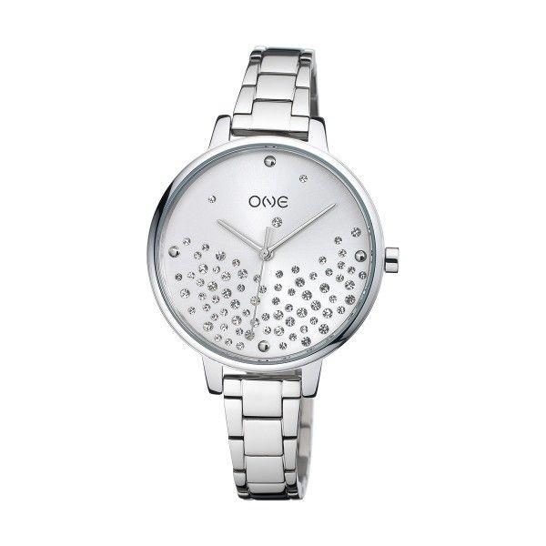 Relógio ONE Bright Prateado OL0450SS92W