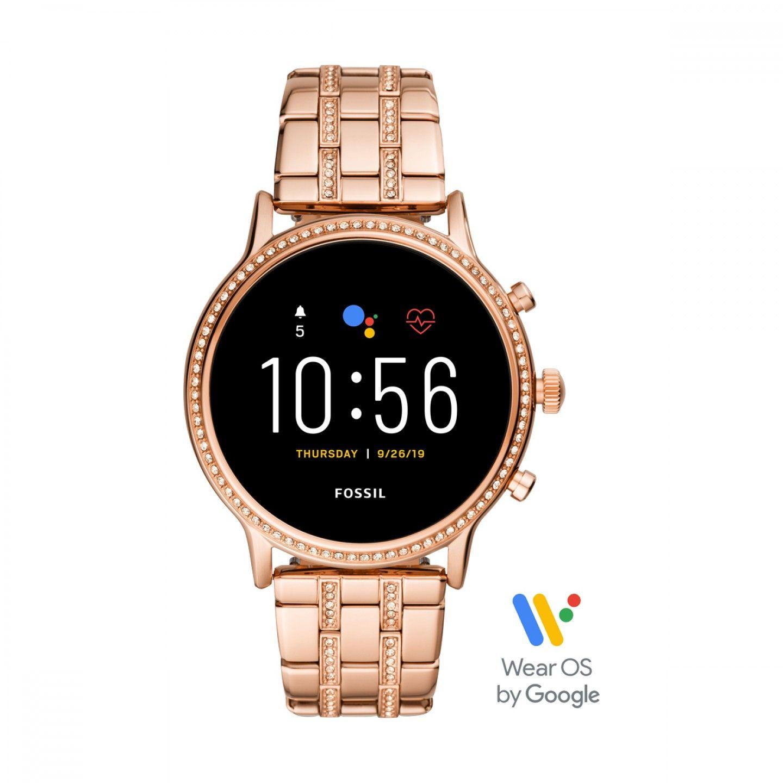 Relógio Inteligente FOSSIL Q Julianna Ouro Rosa (Smartwatch)