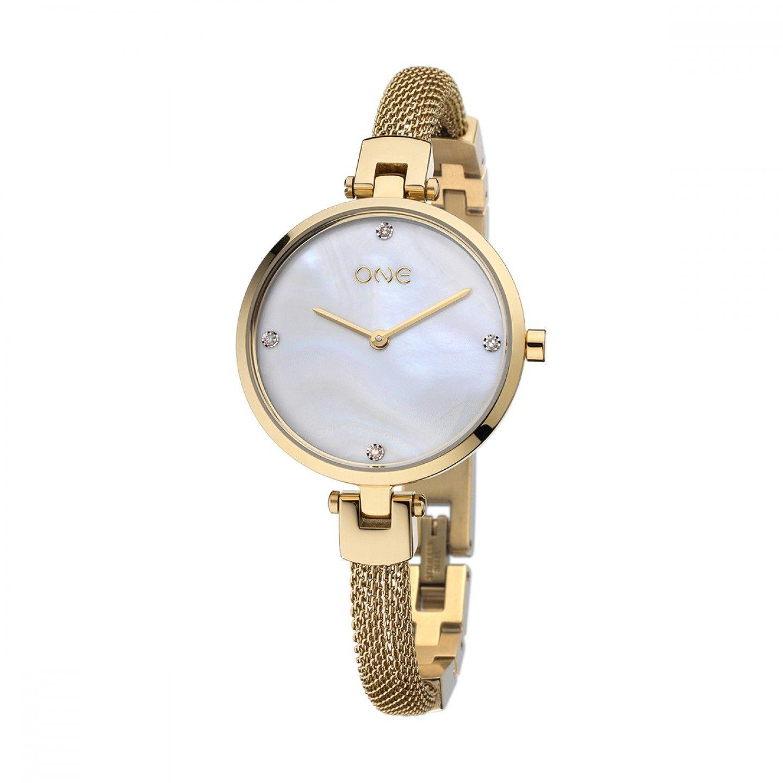 Relógio ONE Diamond Dourado