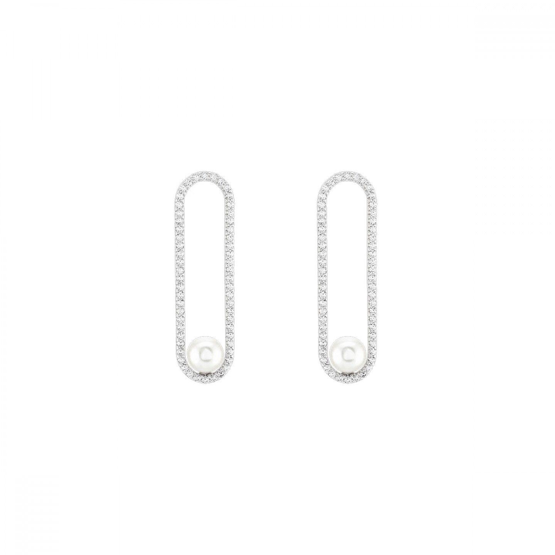 Brincos UNIKE JEWELRY Glow Pearls
