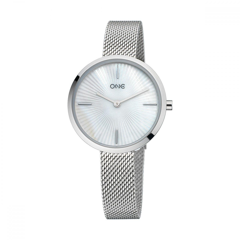 Relógio ONE Unique Prateado