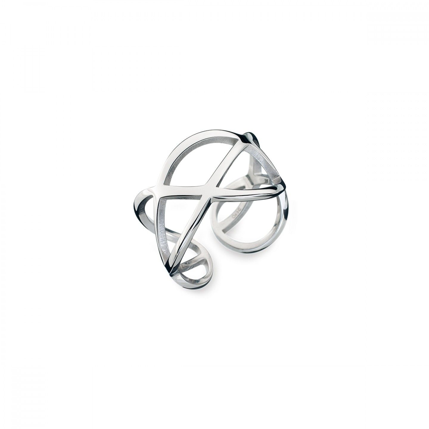 Anel ONE JEWELS Universe Silver
