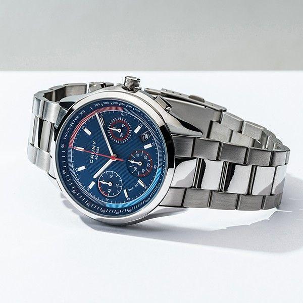 Relógio CAUNY Accura Prateado CAC003