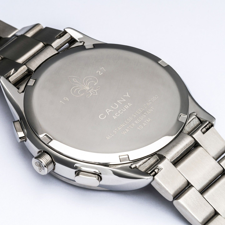 Relógio CAUNY Accura Prateado