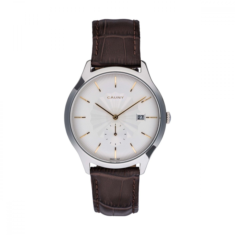 Relógio CAUNY Envoy Patterns Castanho