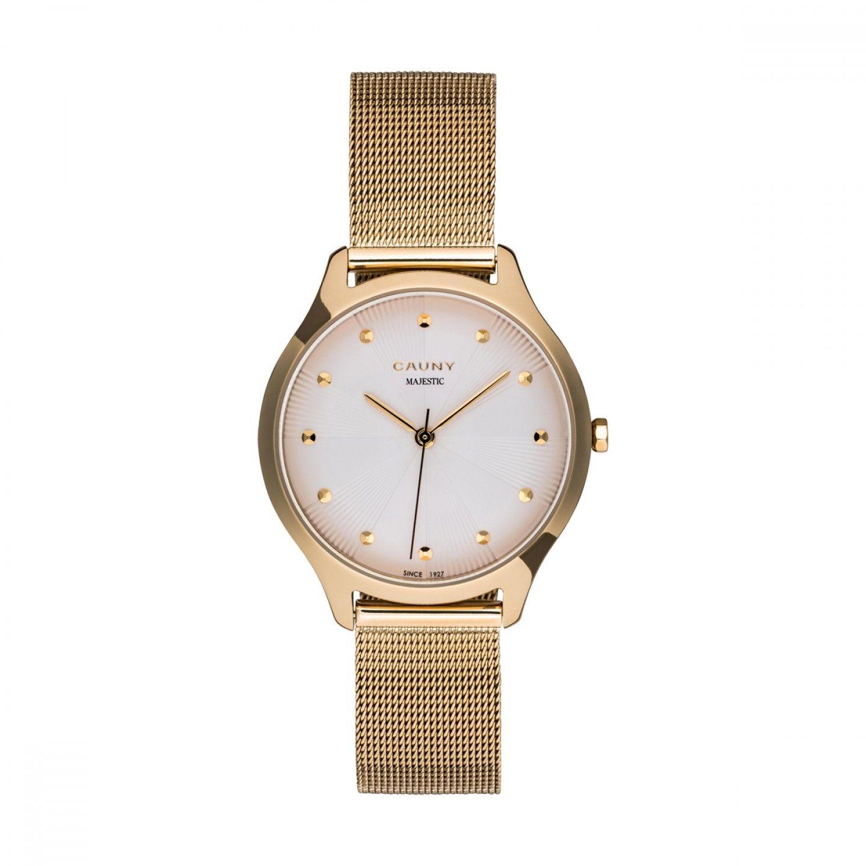 Relógio CAUNY Majestic Paterns Dourado