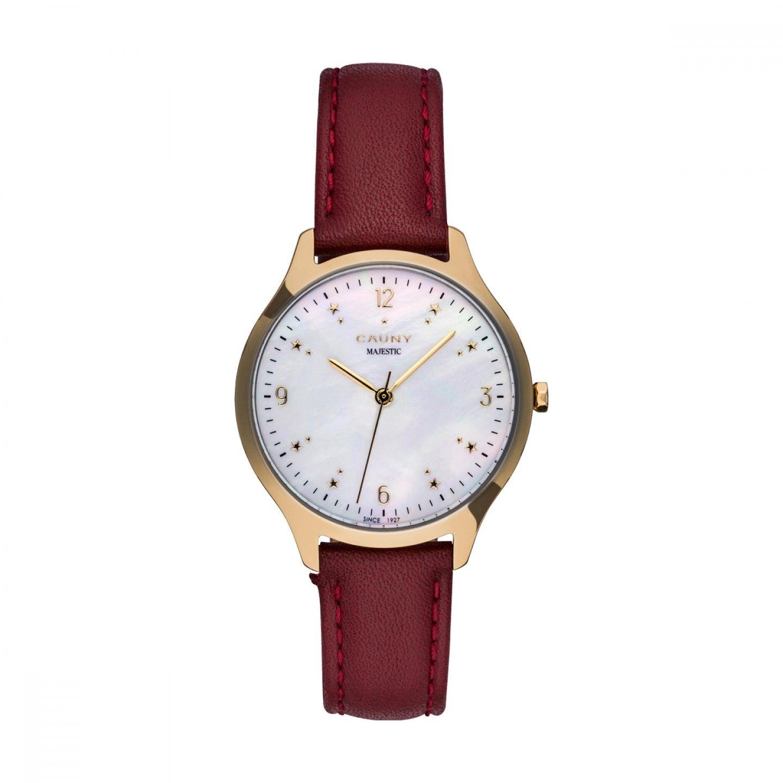Relógio CAUNY Majestic Vermelho