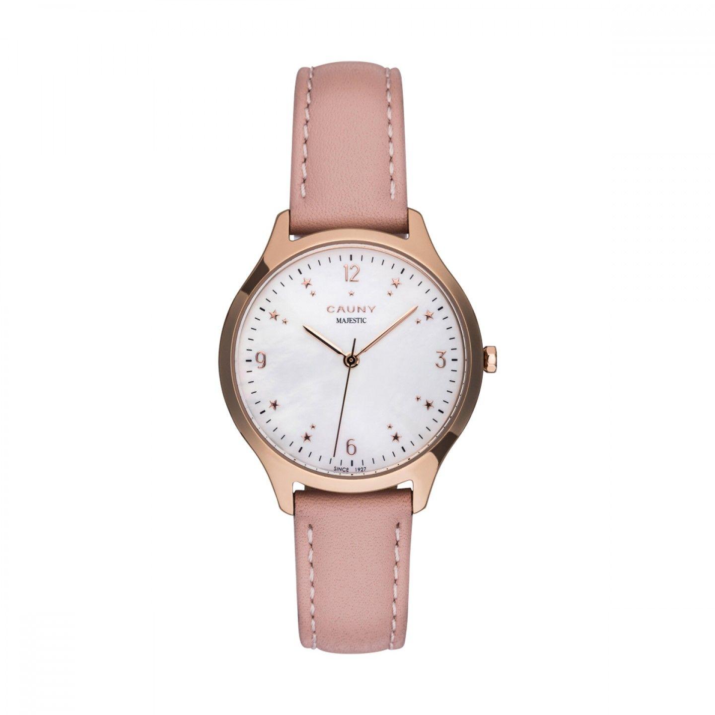 Relógio CAUNY Majestic Rosa Claro