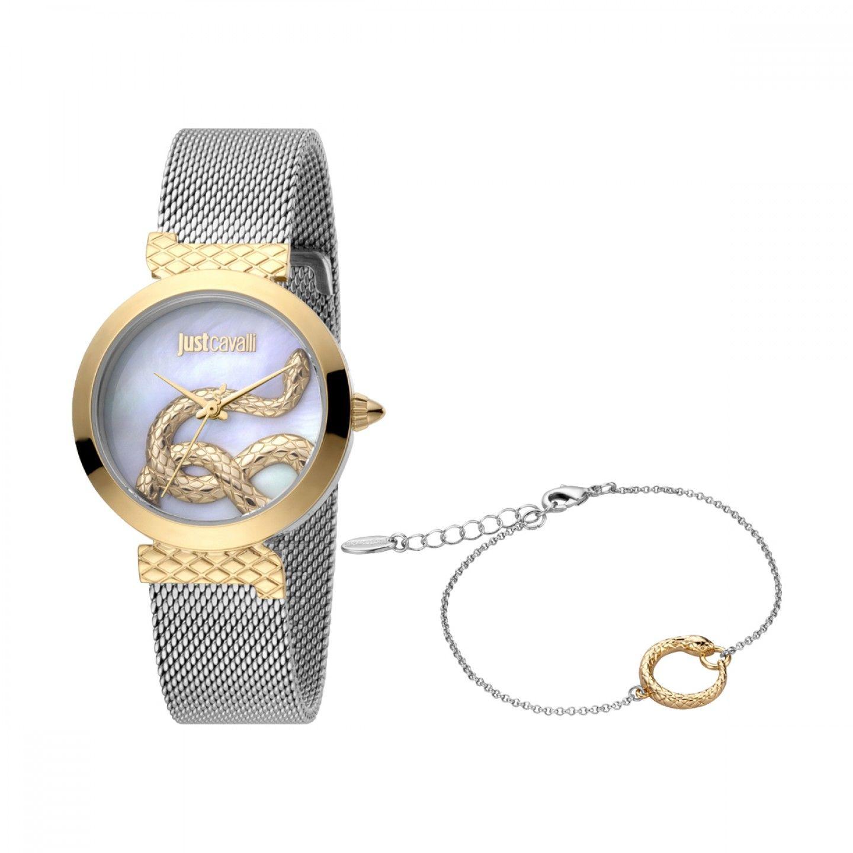 Relógio JUST CAVALLI TIME Snake Set Bicolor