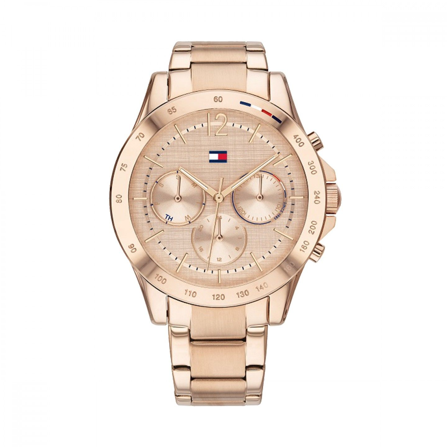 Relógio TOMMY HILFIGER Haven Ouro Rosa