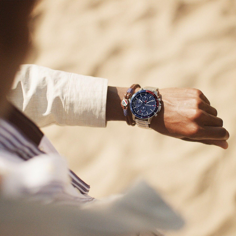 Relógio TOMMY HILFIGER Bank Prateado