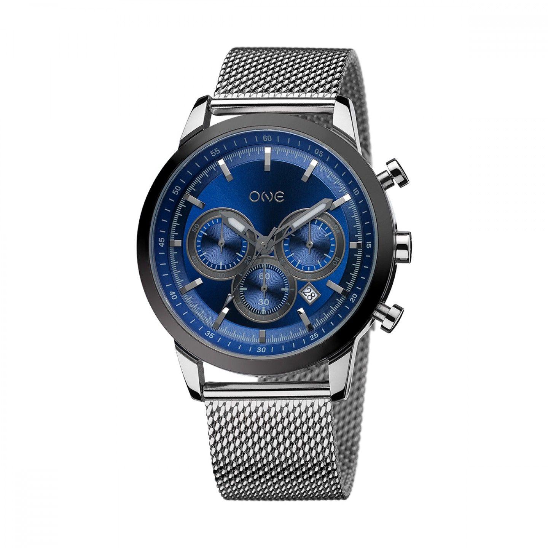 Relógio ONE Touch II Preateado