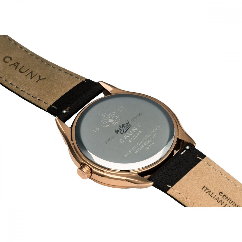 Relógio CAUNY Accura Calendar Castanho