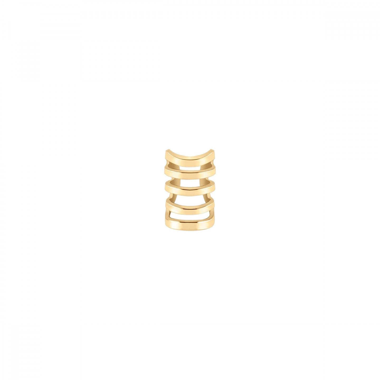 BRINCO UNIKE MIX & MATCH EAR CUFF 5 LINES GOLD