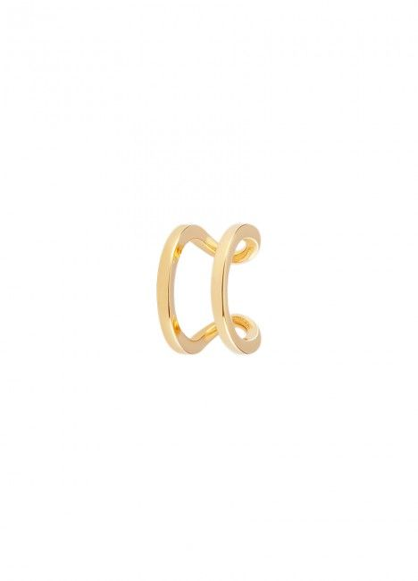 BRINCO UNIKE MIX & MATCH EAR CUFF 2 LINES I GOLD