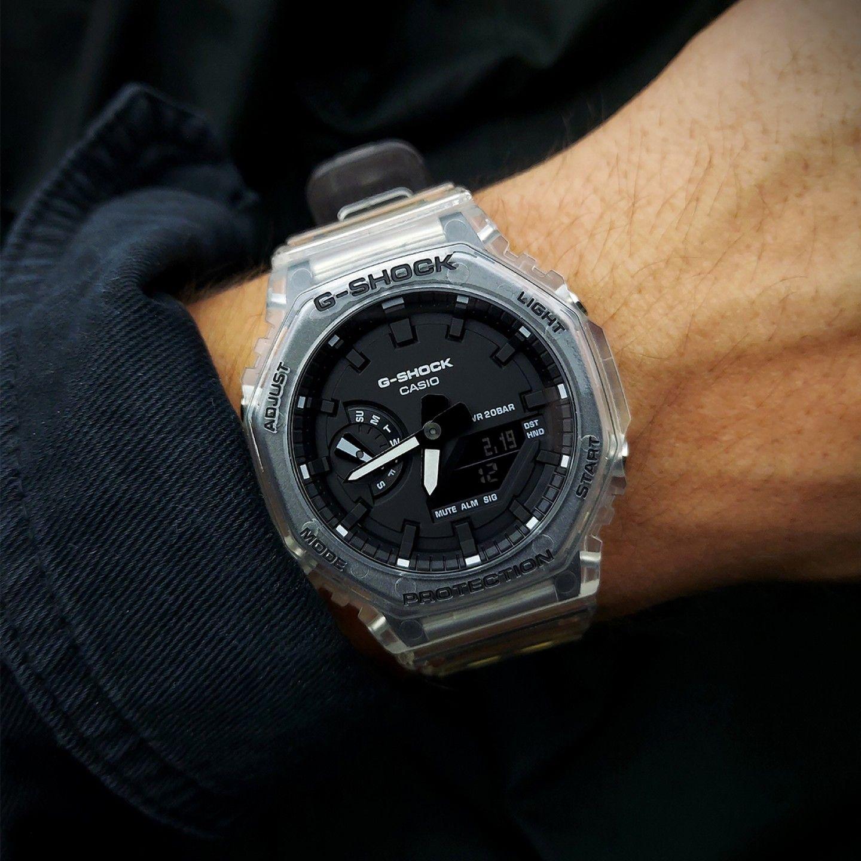 Relógio CASIO G-SHOCK classic SKELETON