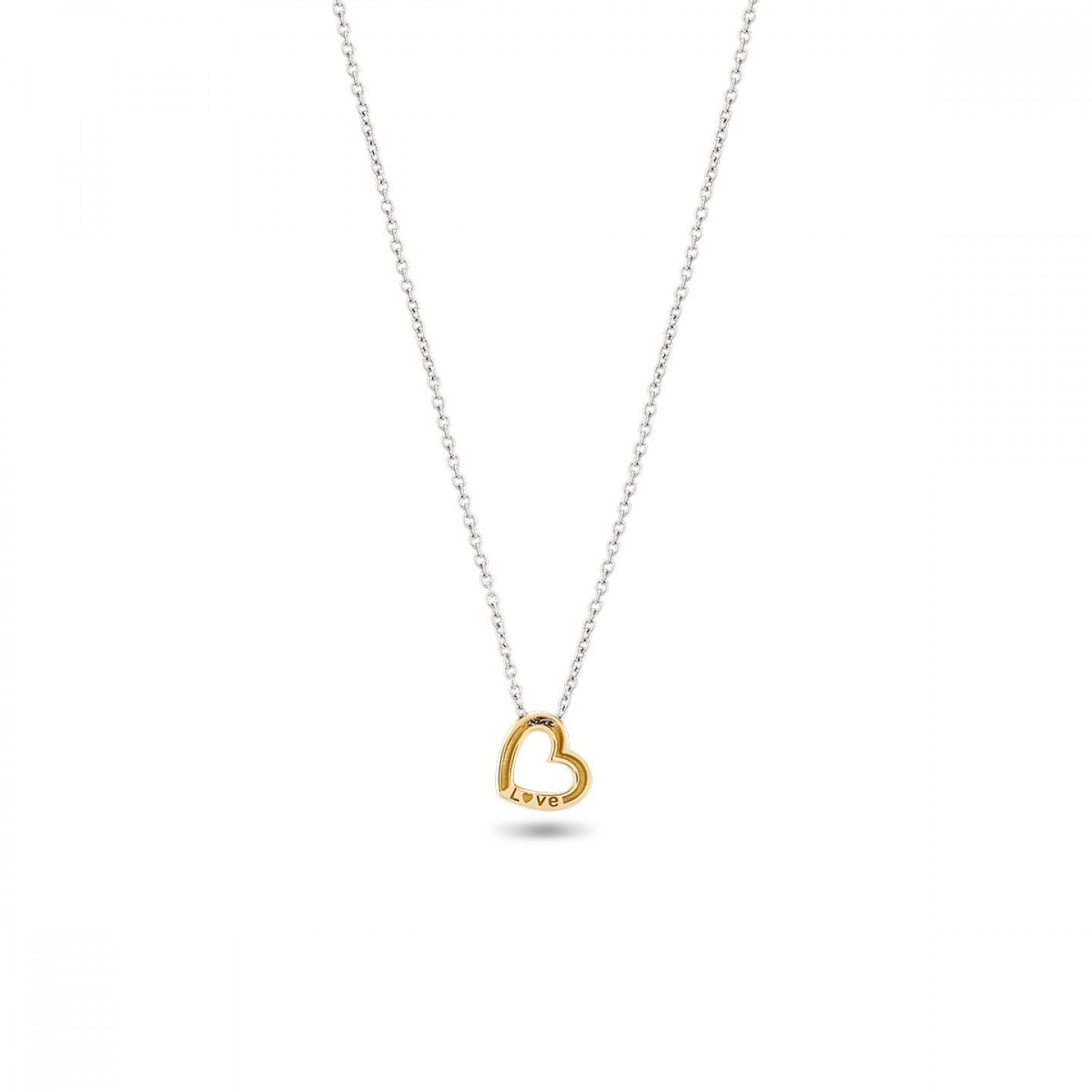 COLAR BOW GOLD ONE HEART II
