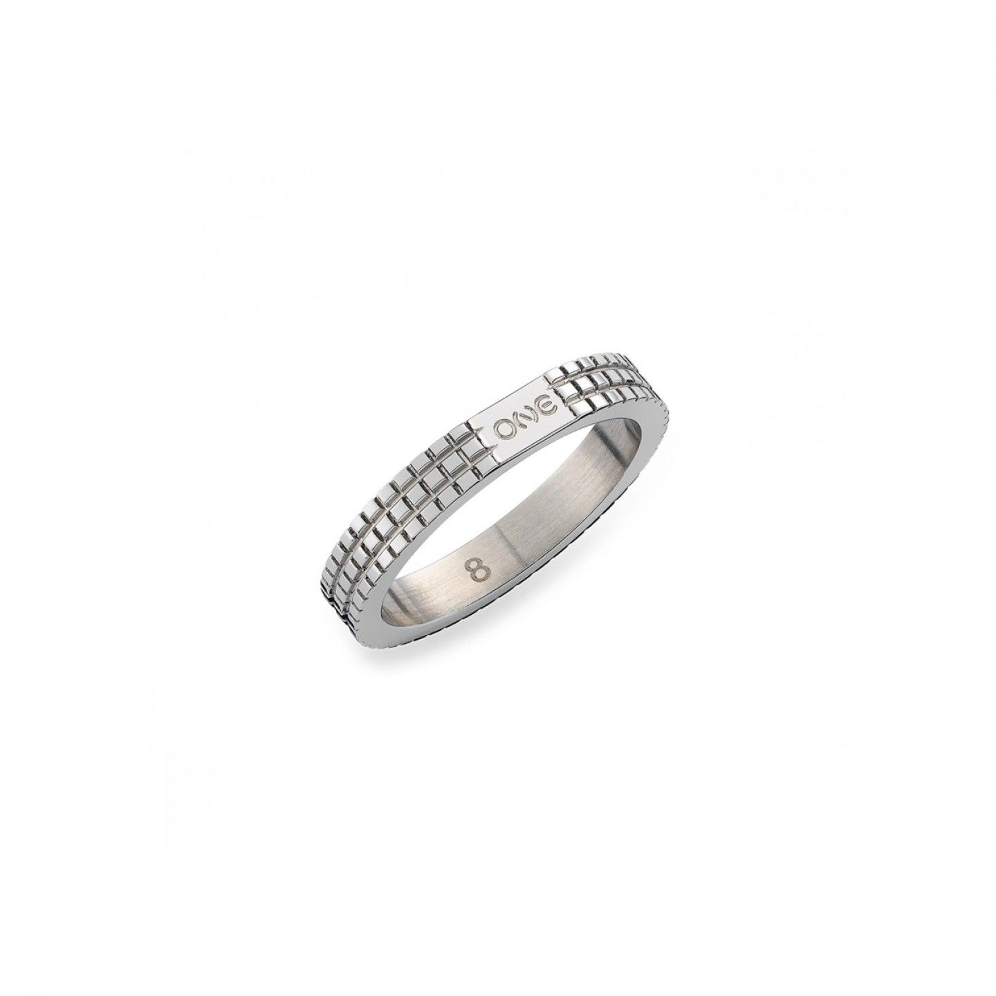 Anel ONE JEWELS London 02 Silver