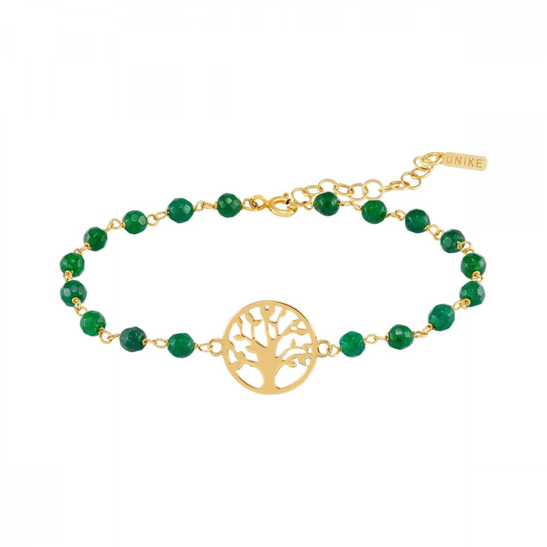 PULSEIRA UNIKE FUN S21 BEADS GREEN TREE GOLD