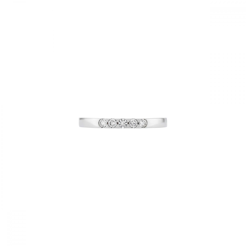 ANEL BOW OURO 18K DIAMANTES 0,18 Q.GSI