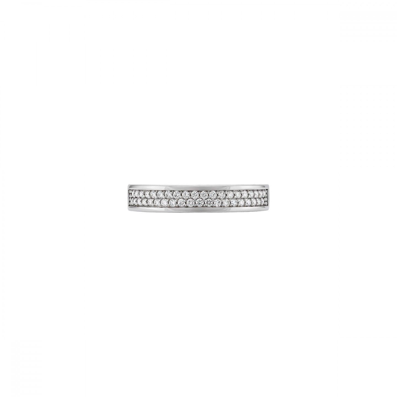 ANEL BOW OURO 18K DIAMANTES 0,24 Q.GSI