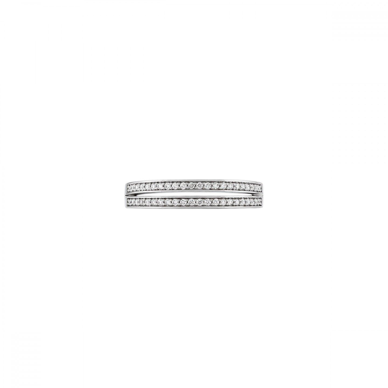 ANEL BOW OURO 18K DIAMANTES 0,22 Q.GSI