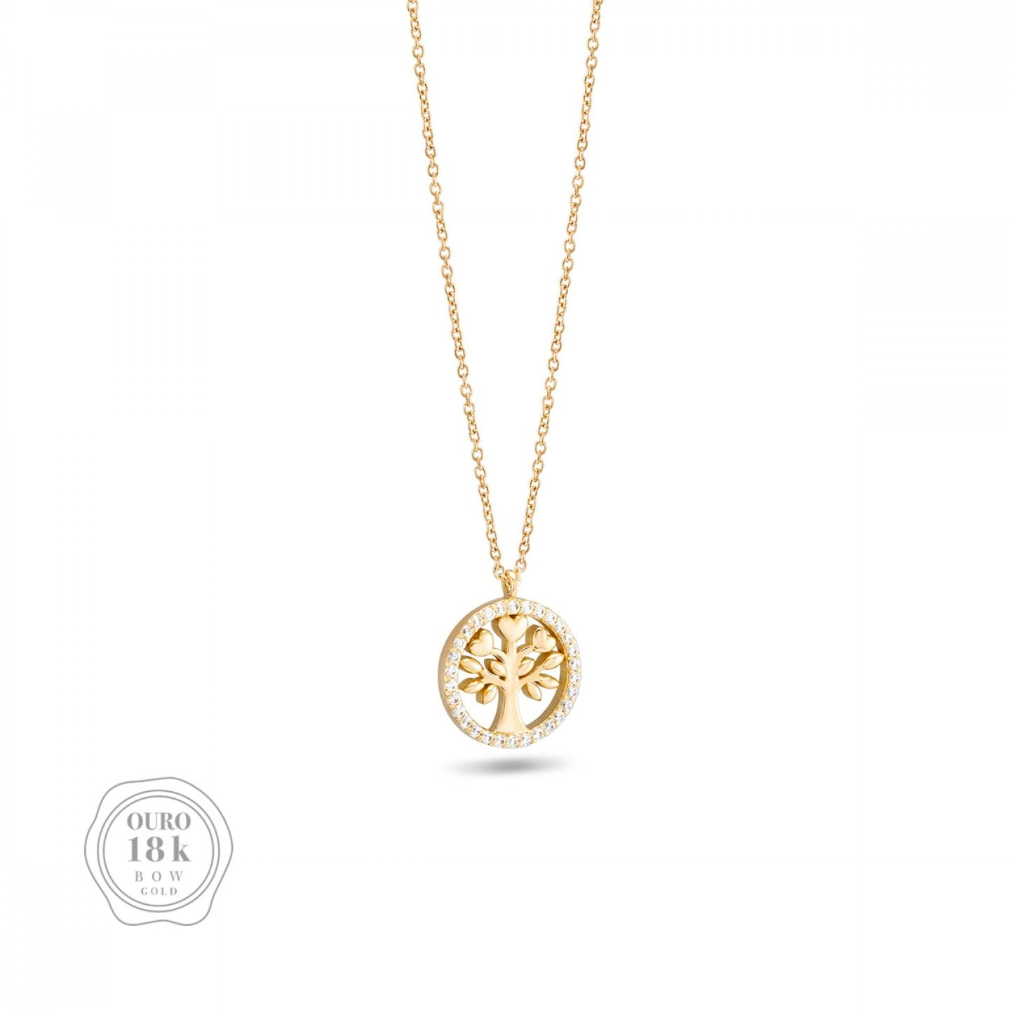 COLAR BOW GOLD TREE OF LIFE