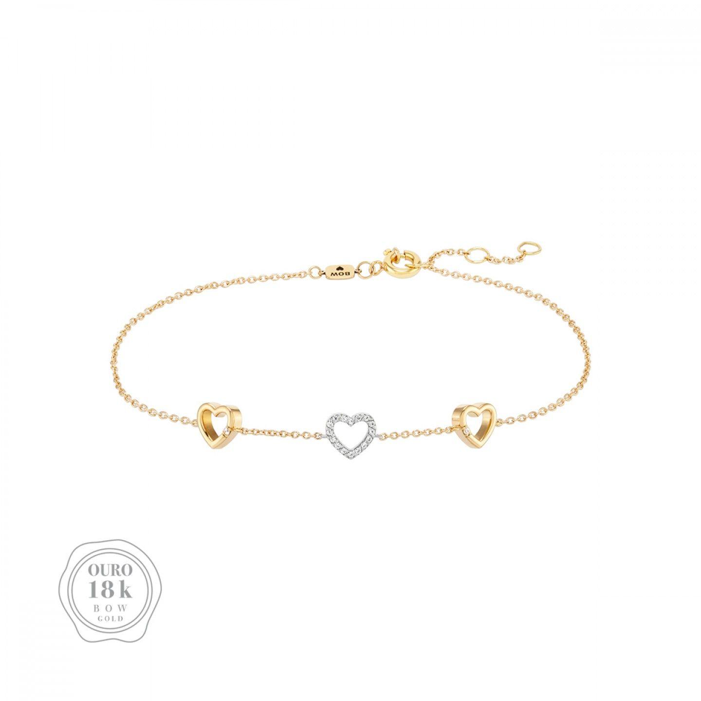PULSEIRA BOW GOLD HEART III