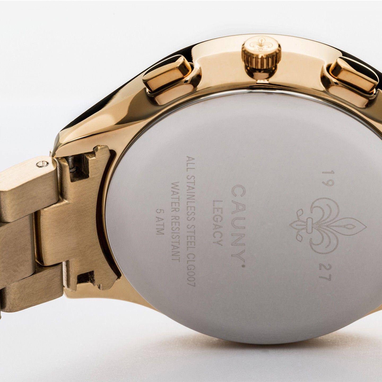 RELÓGIO CAUNY LEGACY GOLD